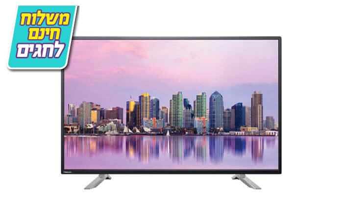 2 טלוויזיה 65 אינץ' SMART TOSHIBA 4K - משלוח חינם