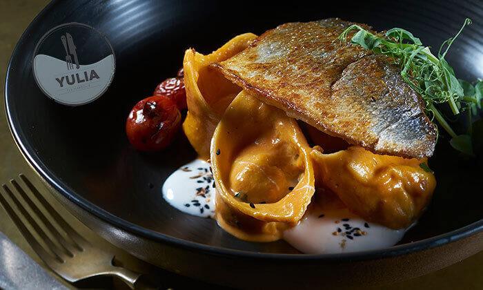 7 GROO PREMIUM: ארוחה זוגית במסעדת יוליה, תל אביב