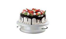 מעמד מסתובב לקישוט העוגה