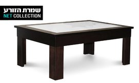 שולחן סלוני מעץ מלא דגם שמיר