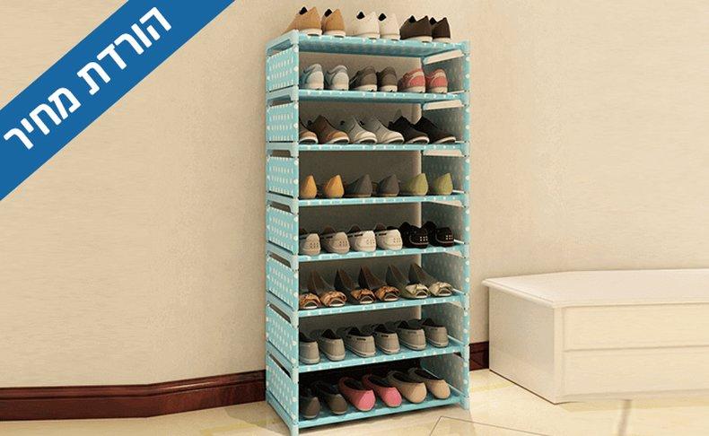 מעמד ל-24 זוגות נעליים