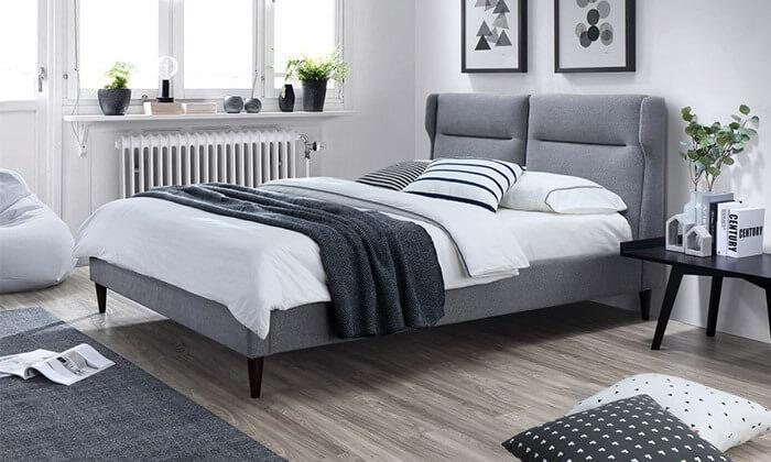 4 מיטה זוגית מעוצבת