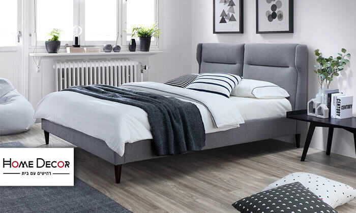 2 מיטה זוגית מעוצבת