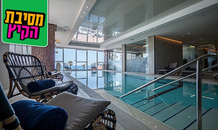 4 יום כיף וארוחת בוקר במלון הבוטיק David Tower