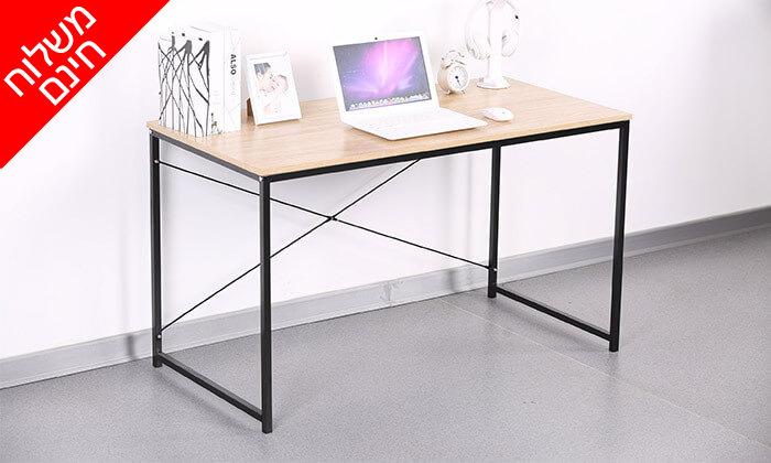 2  שולחן מחשב מעוצב ואיכותי - משלוח חינם!