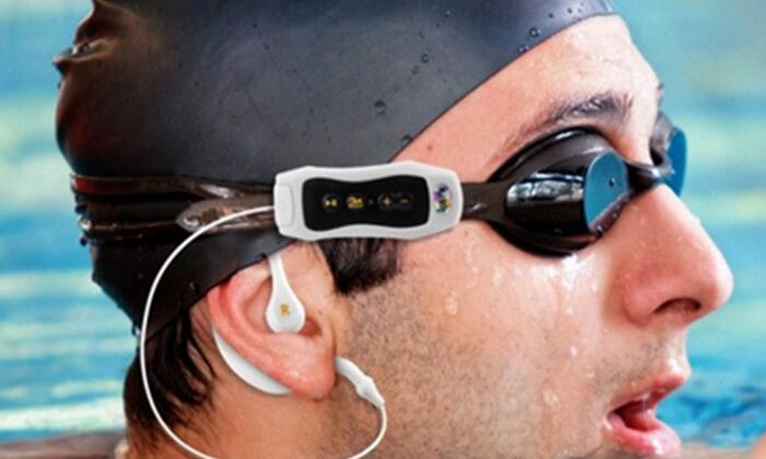 3 נגן MP3 ורדיו עמיד במים