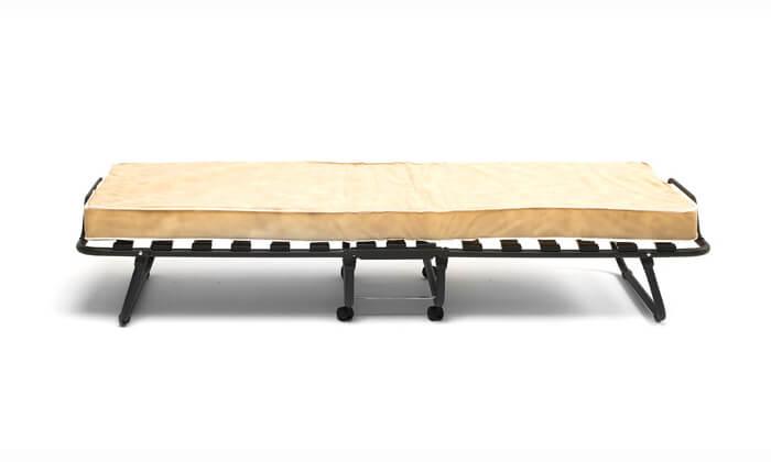 4 מיטה מתקפלת LUCCA על גלגלים כולל מזרן