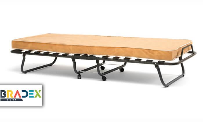 2 מיטה מתקפלת LUCCA על גלגלים כולל מזרן