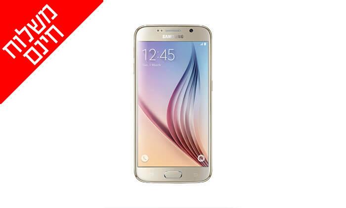 3 סמארטפון Samsung Galaxy S6 - משלוח חינם!