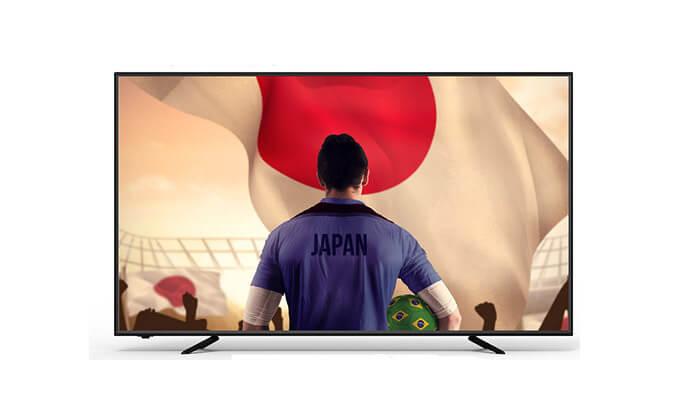 2 טלוויזיה smart tv SUZUKI ENERGY 4K עם מסך 75 אינץ'