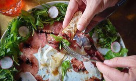 ארוחה איטלקית לזוג בגרג קיטשן