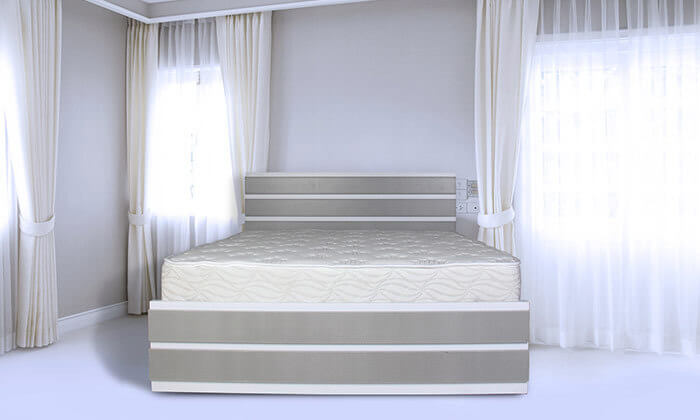 3 מיטת מלמין יצוק עם מזרן מתנה