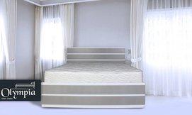 מיטת מלמין יצוק עם מזרן מתנה