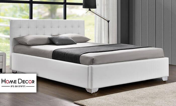 2 מיטה זוגית מעוצבת HOME DECOR