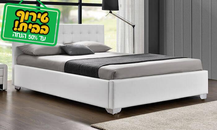 5 מיטה זוגית מעוצבת HOME DECOR