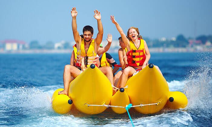 2 חלום עולמי בכנרת - אטרקציית ספורט ימי לכל המשפחה