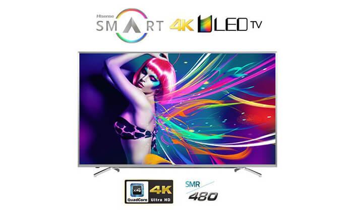 2 טלוויזיה 55 אינץ' LED Hisense SMART 4K- משלוח חינם!