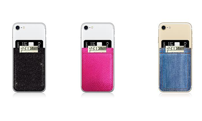 2 כיס כפול למכשיר נייד iDecoz - משלוח חינם!