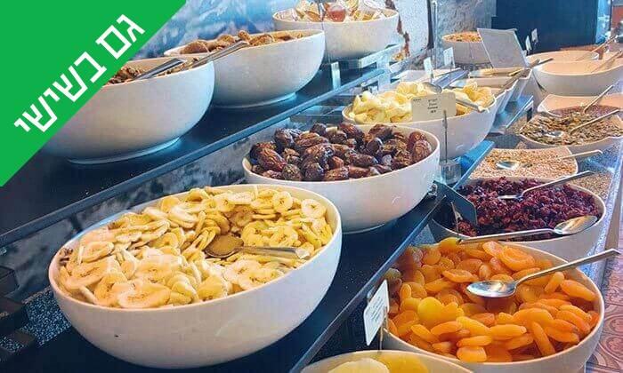 8 ארוחת בוקר כשרה במלון הרודס תל אביב