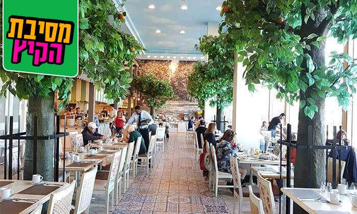 3 ארוחת בוקר כשרה במלון הרודס תל אביב