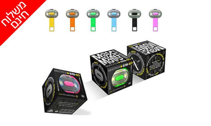 4 נצנץ LEDלרצועת הכלב - משלוח חינם!