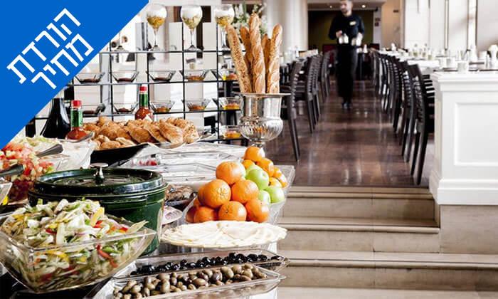 5 ארוחת בוקר במלון לאונרדו סיטי טוואר, רמת גן