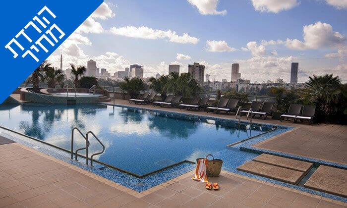 7 ארוחת בוקר במלון לאונרדו סיטי טוואר, רמת גן