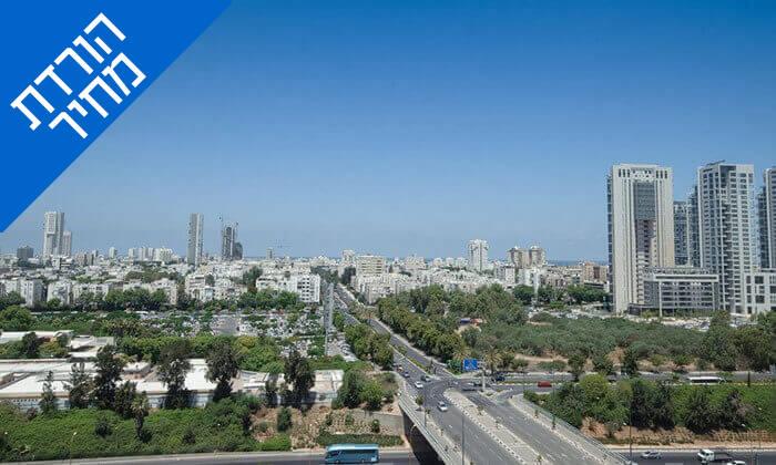 9 ארוחת בוקר במלון לאונרדו סיטי טוואר, רמת גן