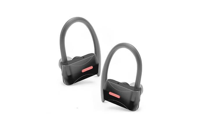 2 אוזניות ספורט בלוטוס אלחוטיות
