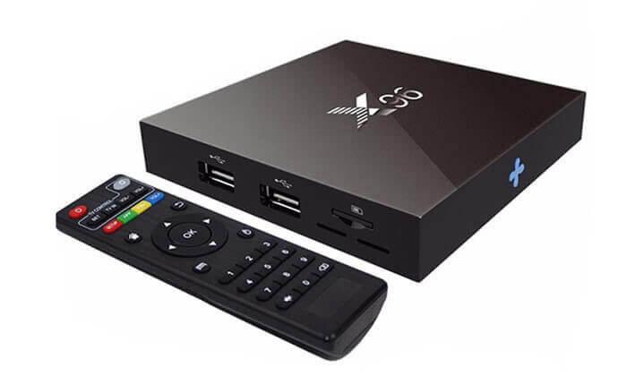 4 סטרימר TV BOX 4K ULTRA אנדרואיד