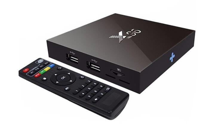 2 סטרימר TV BOX 4K ULTRA אנדרואיד