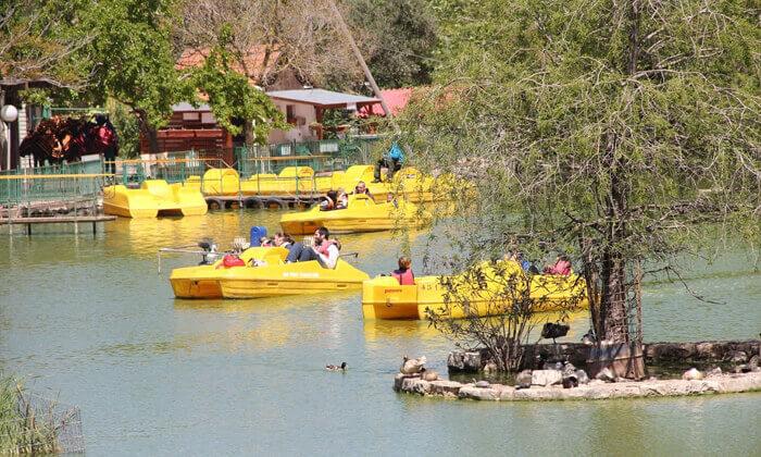 10 אגם חי בקיבוץ יראון - כרטיס כניסה לאתר הנופש והבילוי