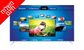 טלוויזיה חכמה ''innova 4K 75