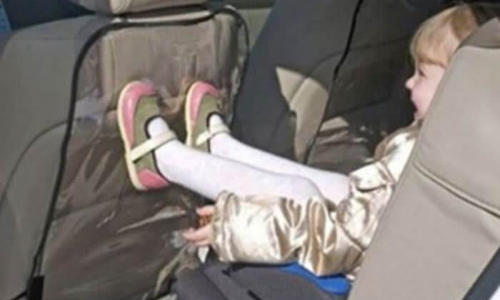 3 כיסוי שקוף לגב מושב הרכב