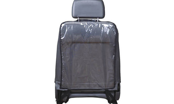 4 כיסוי שקוף לגב מושב הרכב