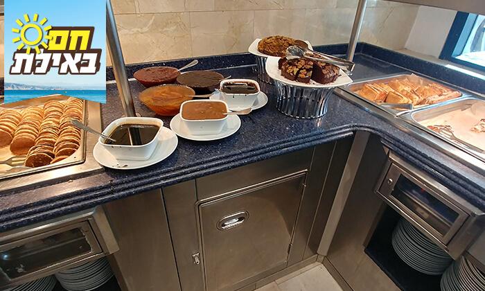 4 ארוחת בוקר בופה במלון סנטרל פארק אילת