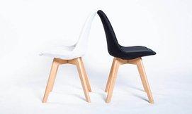 כסא מרופד לפינת האוכל