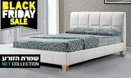 מיטה זוגית מרופדת דגם סינרגיה