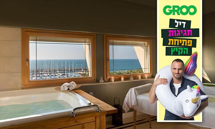 """2 דיל חגיגת קיץ: יום פינוק ב-Share Spa, מלון לאונרדו ארט ת""""א"""