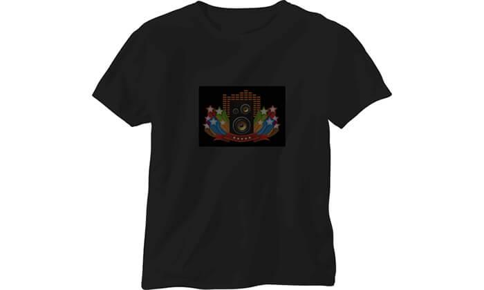 3 חולצה עם פאנל תמונה משתנה