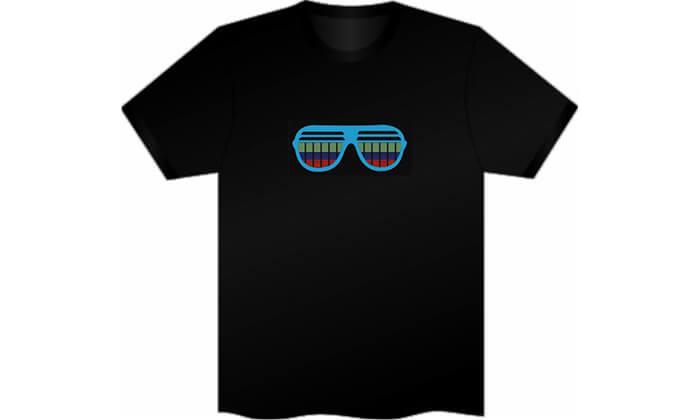 5 חולצה עם פאנל תמונה משתנה