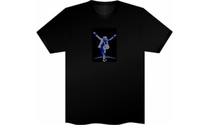 6 חולצה עם פאנל תמונה משתנה