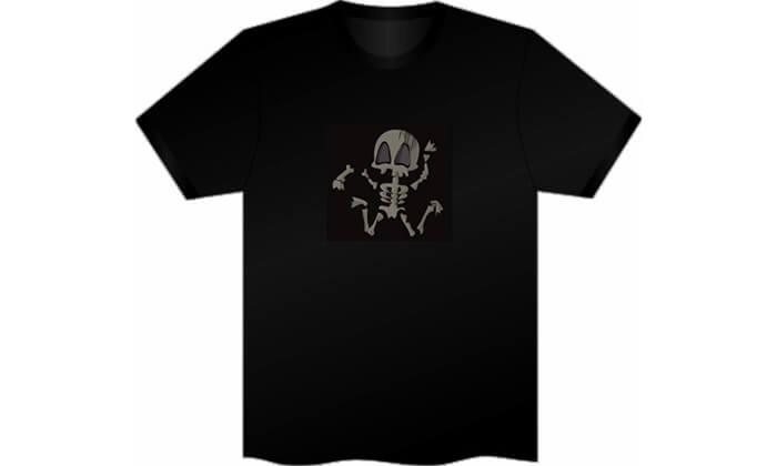 11 חולצה עם פאנל תמונה משתנה