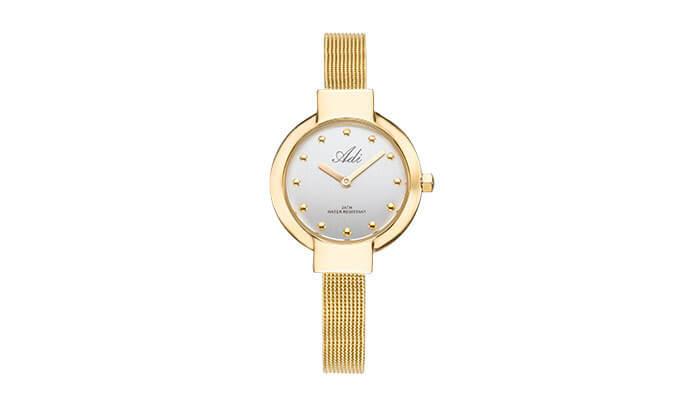 2 שעון יד QUARTZ לאישה, תוצרתADI