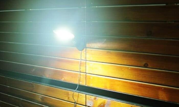 3 תאורת LED סולארית לגינה