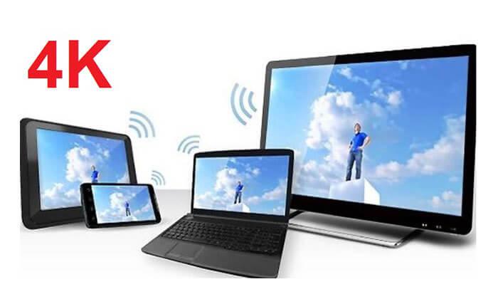 3 דונגל אלחוטי 4K בחיבור HDMI