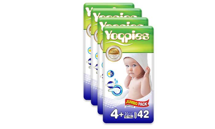 5 5 חבילות חיתולי פרמיום yoppies