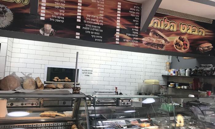 3 ארוחת שניצל בבאגט - הבגט הלוהט, החשמל תל אביב