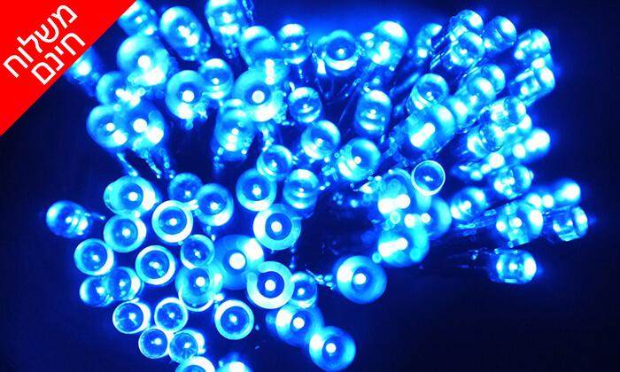 7 שרשרת נורות LED סולאריות - משלוח חינם!