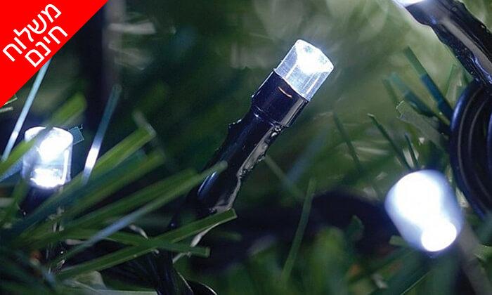11 שרשרת נורות LED סולאריות - משלוח חינם!
